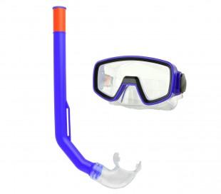256459 Kit para niños máscara y tubo ajustable para playa Evertop varios colores