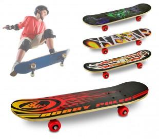 748273 Skateboard para niños y para adolescentes 4 ruedas diferentes modelos