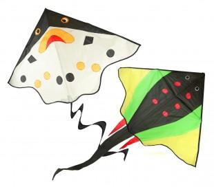 420103 Cometas para jugar para niños en dos variantes fácil de usar 117 x 78 cm