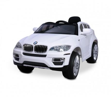LT 847 Coche eléctrico para niños BMW X6 una plaza 12V con control remoto