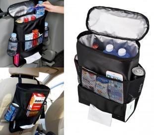 340518 Organizador asiento trasero del coche bolsillos y apartado frigorífico