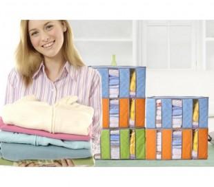 Organizador de ropa armario colgador para ahorrar espacio y cambio de temporada