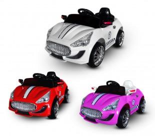 LT 867 Coche eléctrico para niños Auto sport monoplaza 6V con luz y sonidos