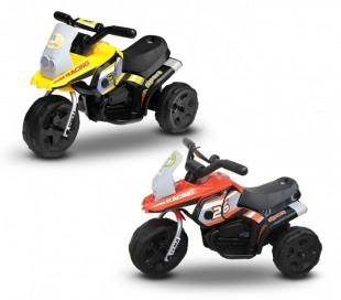 LT 853 Motocross eléctrica para niños Poket monoplaza 6V tres ruedas