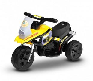 LT 835 Motocross eléctrica para niños Poket monoplaza 6V tres ruedas