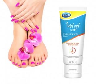 3018782 Dr. Scholl terciopelo suave crema hidratante diaria para los pies 60ml