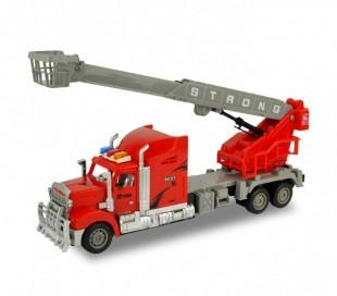 37738 Camión con excavadora radiocontrol 4 funciones en tres colores