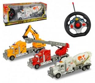 37738 Camión excavador radiocontrol 4 funciones en tres colores