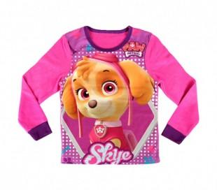 828173 Pijama  de terciopelo para niñas motivo de PAW PATROL SKYE ( 3 a 6 años)