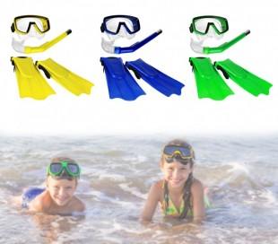 400479 Kit de máscara tubo y aletas para niños CIK E CIAK en 3 colores