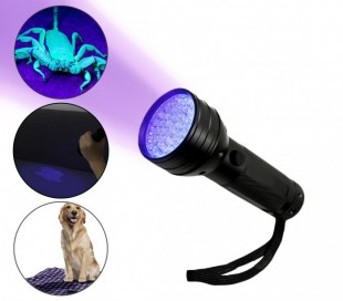 499440 Linterna de inspección con 51 LED UV para pistas orgánicas