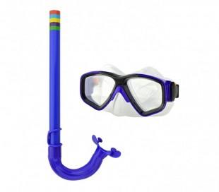 256596 Kit de máscara y tubo para niños EVERTOP ajustable en 4 colores