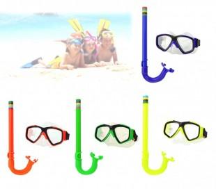 256596 Kit para niños de máscara y tubo ajustable EVERTOP en 4 colores