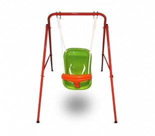 355381 Columpio fijo de jardín para niños CIGIOKI 113 x 103 x 95 cm