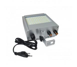 Luz estroboscopica 108 led parpadeante, lampara luz blanca smd efecto discoteca