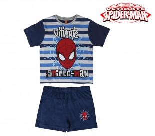 SS17SP Pijama de verano para niños modelo SPIDERMAN talla de 3 a 7 años