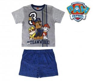 SS17PP1 Pijama de verano para niños modelo PAW PATROL talla de 2 a 6 años