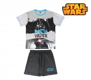 SS17SW Pijama de verano para niños modelo STAR WARS tallas 8–10–12 años
