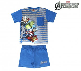 SS17AV Pijama de verano para niños modelo The Avengers tallas 4-6-8 años