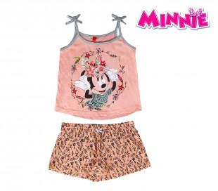SS17MN Pijama de verano para niños modelo Minnie Mouse tallas de 3 a 7 años