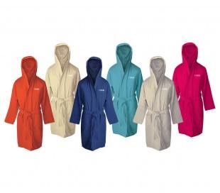 287859 Albornoz de microfibra unisex COVERI secado rápido en varios colores