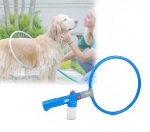370014 Innovador sistema de limpieza pera perros WASH DOG redondel 360°