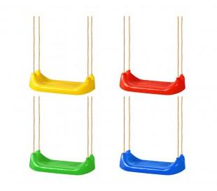 321324 Asiento para el columpio CIGIOCHI en varios colores con cuerdas