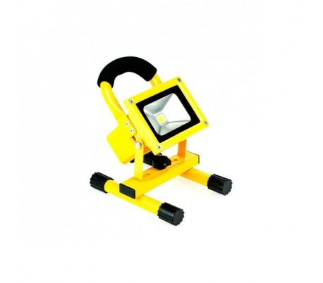 Faro foco LED recargable portátil flood light batería 10W-20W luz blanca fría