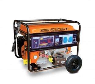 60124 Generador de corriente a gasolina 4 tiempos VINCO alternador de cobre 390c