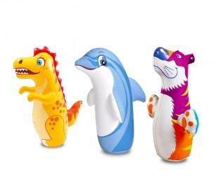 44669 Pungiball inflable INTEX siempre se mantiene en pie en 3 modelos distintos