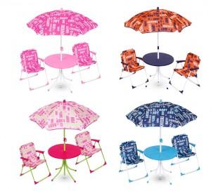 3177110 Conjunto de mesas y sillas de jardín para niños marca COVERI BEBE