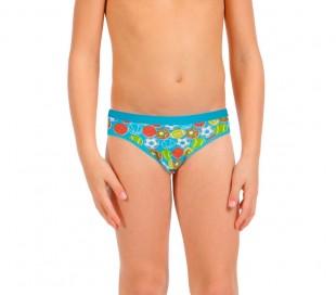 Pack a elegir 3-6-12 calzoncillos para niño SPORTY diferentes colores y tallas