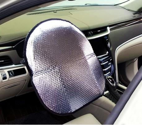 055878 Funda parasol para el volante del coche 49 x 44.5 cm