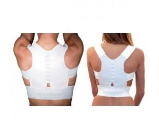 Faja soporte de apoyo 12 imanes para corrección postura unisex espalda hombros