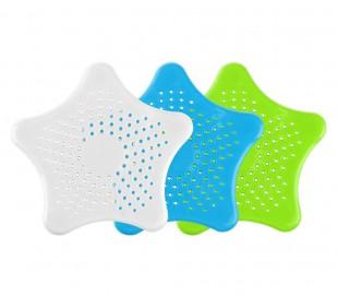 4345 Kit de 2 filtros con ventosa recoge suciedad y pelos para pica y ducha