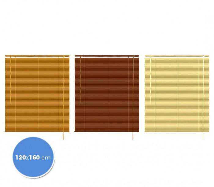 032066 persiana veneciana para interior 120x160 de pvc con - Persiana veneciana de aluminio ...