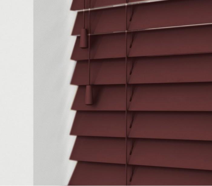 032066 persiana veneciana para interior 120x160 de pvc con - Persianas venecianas de madera ...