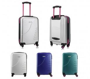 161025 Trolley rígida Pierre Cardin equipaje de mano con 4 ruedas 38x22x55 cm