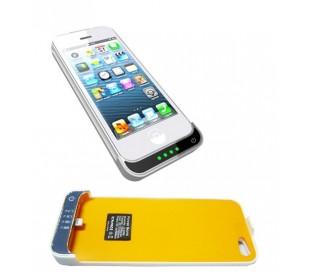 Funda cargador compatible con iPhone 5 / 5s / 5c 2500 mAh