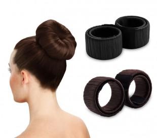 4390 Cinta para peinado rápido y sofisticado moño en 2 colores