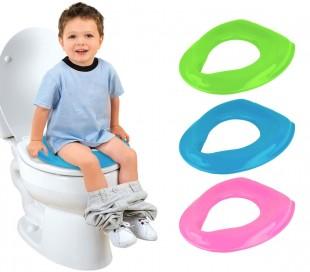 43408 Reductor para WC KIDS BATH ergonómico para niños cómodo y fácil de limpiar