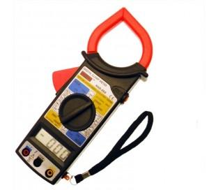 Tester con pinza amperimétrica - multimetro digital con estuche - color rojo