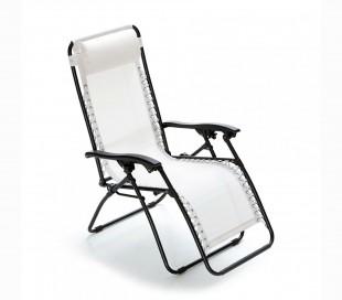 3852021 Hamaca plegable totalmente reclinable COVERI COLLECTION en color Blanco