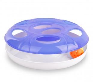 10605  Juego interactivo para gatos de plástico con bola UFO ø 25 cm