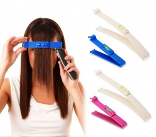 4329 Set 2 trimmer para cortar el pelo y las puntas con nivel burbuja incluido