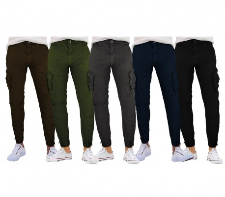 Pantalones para hombre C-310 mod. Vincent G-9 JEANS con bolsillos laterales 240bb599f103