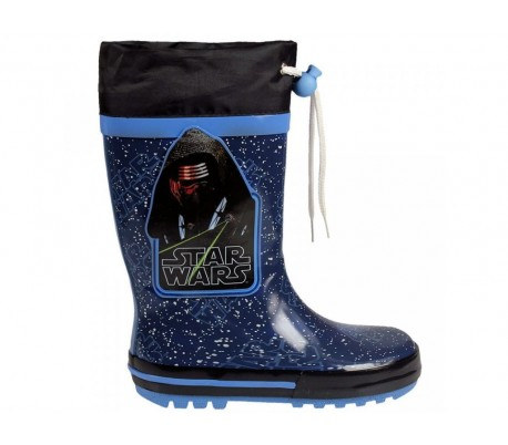 4a530ed971e 23-2085 Botas de agua para niños motivo STAR WARS tallas de la 28 a la