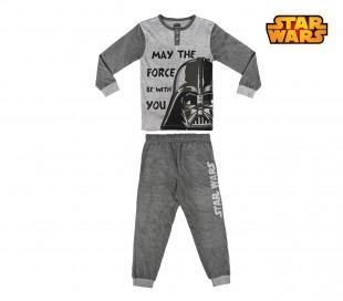 22-2282 PIjama invierno para niños motivo STAR WARS tallas de 6 a 12 años