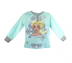 22-2281 Pijama de manga larga para niña Frozen de 3 a 7 años en algodón