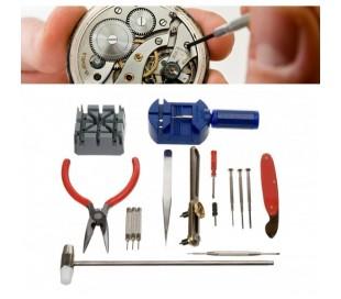 Kit 16 piezas de reparacion de relojes y pequeño electrodomestico mws